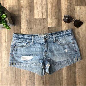 Victoria's Secret PINK Denim Short Shorts